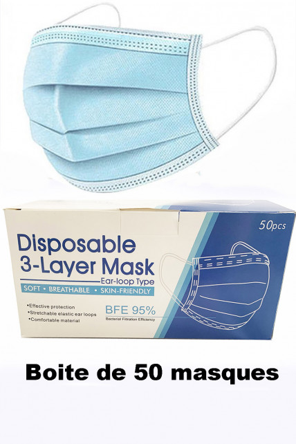 Masques chirurgicaux jetables